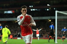 Petr Cech sets new Premier League record as Ozil sends Arsenal top
