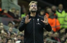 Klopp says the English weather has forced him to change his style of play