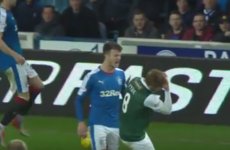 Hibs midfielder banned after getting opponent sent off by feigning injury