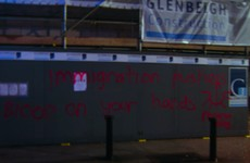 Racist graffiti sprayed on building opposite Immigrant Council of Ireland