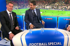 Carragher & Redknapp re-enacted one of 2015's most memorable punditry moments tonight