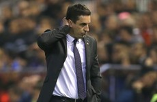Neville still searching for first La Liga win as Valencia go down to Villarreal