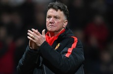 LVG: United fans are the best I've ever seen