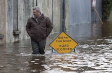 There's an increased risk of flooding along the Liffey tonight