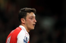 No pressure then - Wenger believes Arsenal title hopes depend on Ozil