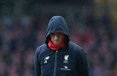 Klopp angry at his Liverpool side for only playing at '90%' against West Ham