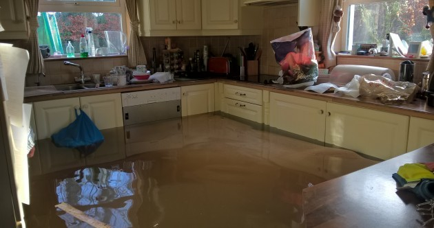 Some 260 homes have been flooded, while 230 more are at risk