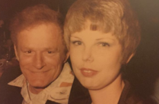 This person's grandparents are the image of Taylor Swift and Hugh Hefner