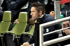 Keane set to miss play-offs as Trap criticises captain
