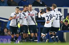 Spurs old boy's cracking goal for the Toffees cancelled out by super Alli strike