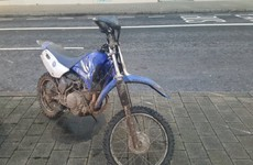 Under 16 caught racing scrambler bike with no licence or insurance