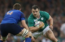 Healy undergoes knee operation in bid to ensure Six Nations fitness