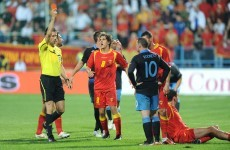 Rooney banned for three Euro 2012 matches following red card