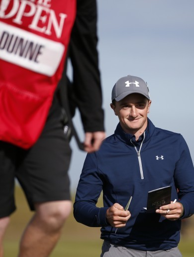Paul Dunne's first outing of the year cut short before he even made it to the tee