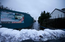 Insurance Ireland say that building flood defences is the government's problem, not theirs