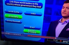 An ITV game show made a complete balls of getting the Taoiseach's name right