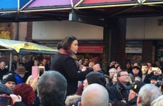 """""""We want the Republic"""": Rally to support Occupy Moore Street protesters"""
