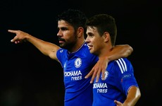 'It's a pity our photographer missed Oscar-Costa bust up!'