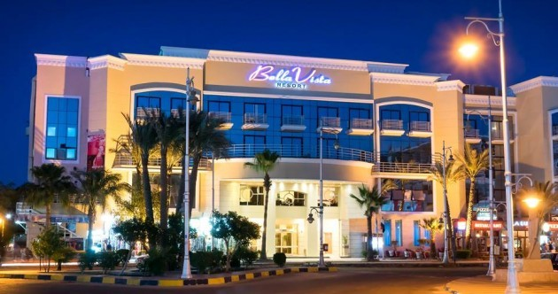 Three tourists stabbed in attack on Egyptian resort hotel