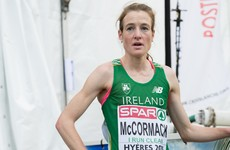 Ireland's Fionnuala McCormack finishes runner-up in Edinburgh, Mo Farah beaten