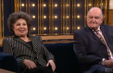 The lovely Ingrid threw some burns at George Hook on the Ray D'Arcy Show last night