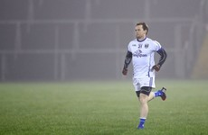 He's back! Seanie Johnston made his return to the Cavan side last night