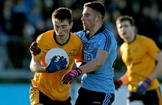Dublin get the better of DCU to progress to the O'Byrne Cup semi-final