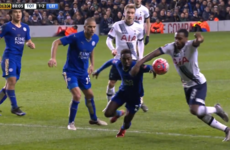Late penalty controversy as Spurs force FA Cup replay against Leicester