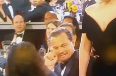 Leonardo DiCaprio had the best reaction to Lady Gaga barging past him at the Golden Globes