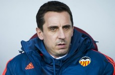 Neville not keen on January signings after fifth winless La Liga outing