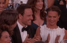 Michael Fassbender dumped his mam for his girlfriend at the Golden Globes… it's the Dredge