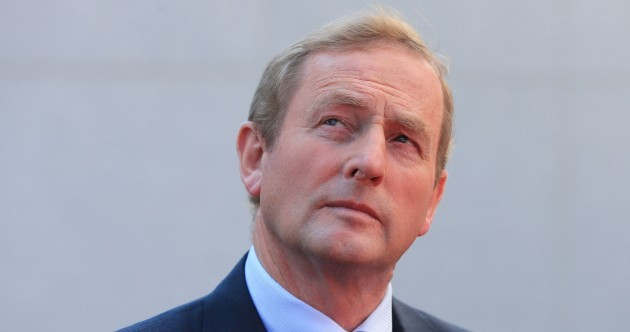 Enda Kenny has a date for the election