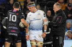 Positive injury update on Jamie Heaslip as he responds well to heavy knock to head