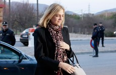 Spain's Princess Cristina is on trial in a landmark corruption case