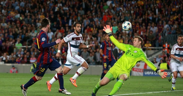 8 of Lionel Messi's best performances in 2015
