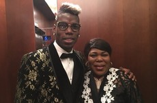 Messi may have toned it down tonight but Paul Pogba has certainly gone all out