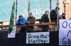 Claiming victory, Moore Street demonstrators end their protest