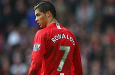 Ronaldo: I was petrified about wearing number seven at United