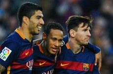 Ireland World XI features Luis Suarez but not Neymar