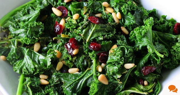 Kale is a nutritional powerhouse. I couldn't believe how delicious raw kale could be