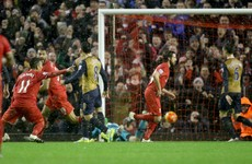 Joe Allen rescues dramatic point for Liverpool in thrilling draw with Arsenal