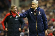 Wenger: I had to tell Klopp to calm down