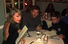 Some messer crashed Calvin Harris and Taylor Swift's dinner date… it's the Dredge