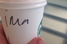 Starbucks just can't stop butchering Irish names on their cups
