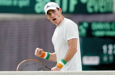 Ireland's James McGee one win away from the main draw of Australian Open