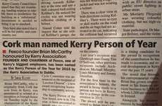 Kerry's Eye is responsible for the best headline of the week