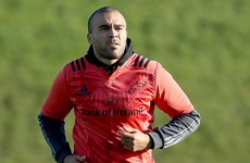 Zebo starts at full-back as Munster make three personnel changes for Stade