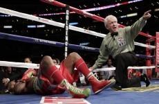 WATCH: Dawson stops Hopkins in bizarre finish