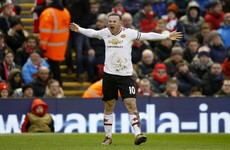 Rooney's late strike punishes wasteful Liverpool