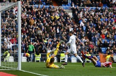 Incredible goal rush sees Real Madrid win at a canter